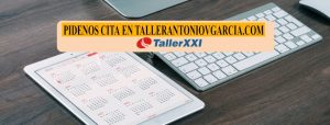 Pide cita previa para tu taller en Toledo Taller Antonio V Garcia